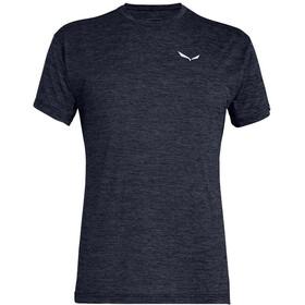 SALEWA Puez Melange Dry T-shirt Heren, premium navy melange